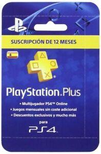 Sony PlayStation Plus Tarjeta para 365 Días Reedición (Código Digital)