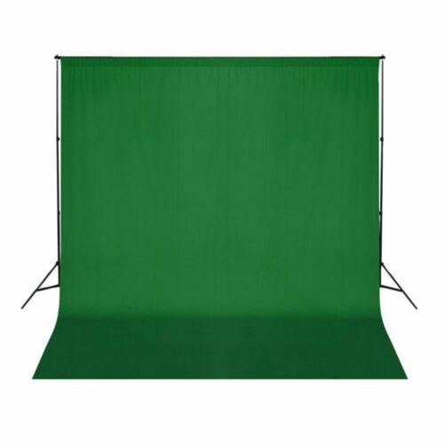 Telón Fondo Fotografía Croma Verde Algodón 300x300cm Tela Estudio Foto Calidad