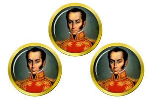 Simon-Bolivar-Marqueurs-de-Balles-de-Golf