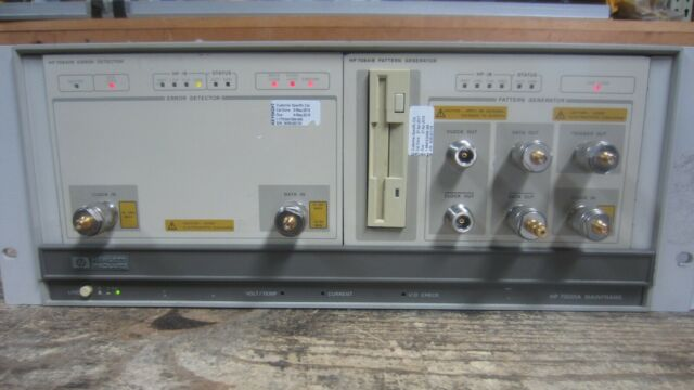 HP AGILENT 70001A MAINFRAME W/ 70841B PATTERN GENERATOR