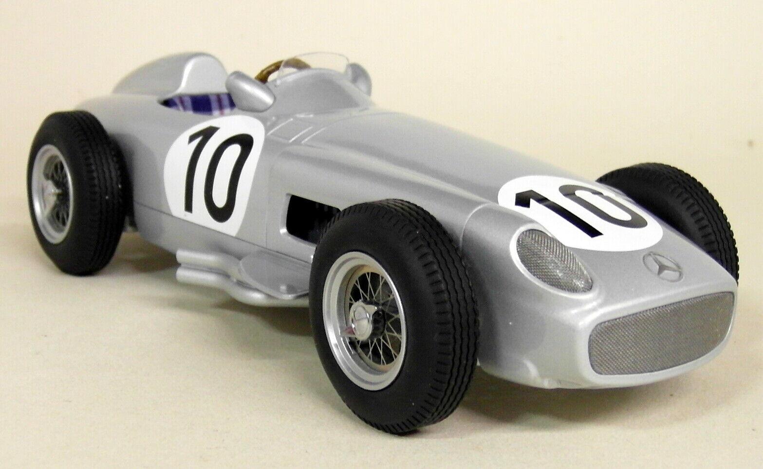IScale 1 18 Scale Fangio Mercedes W196 F1 1955 2nd British GP Resin Model Car