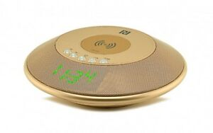 Reloj-Despertador-Qi-Inalambrico-Cargador-De-Escritorio-Bluetooth-para-iPhone-Samsung-Huawei-Lg