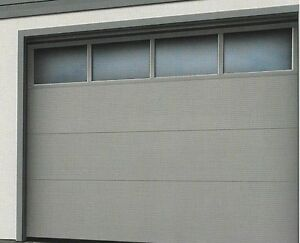 garagentor sektionaltor iso 40 mit fenstersektion in 4 farben ebay. Black Bedroom Furniture Sets. Home Design Ideas