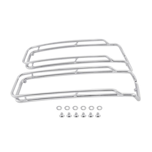 Saddlebags Lid Top Rail Chrome For Harley Touring Electra Street Glide 1994-2013