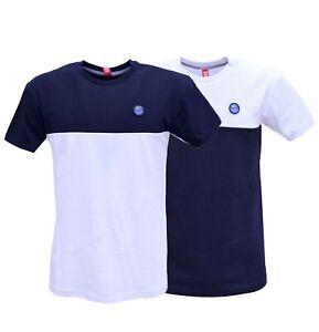 T-shirt-Sweet-years-Uomo-Girocollo-Cotone-Maglietta-manica-corta-Bi-color