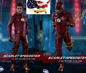 1//6 The Flash Figure FS003 CW Barry Allen Speedster Arrow DC TOY ❶USA IN STOCK❶