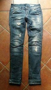 watch e12d8 13a85 Details about G-Star Damen Jeans - Raw Denim - Größe W28 L30. - Midge  Straight WMN Top Zustand