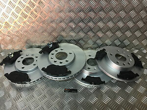 FRONT-and-REAR-Brake-Discs-and-Pads-SAAB-93-OPEL-VAUXHALL-SIGNUM-VECTRA-C-285MM