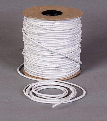 0,60€ M Gummikordel Gummiband Rundgummi Gummiseil Ø4mm Weiß 3m 5m 10m Verkaufsrabatt 50-70% Sport Borten & Bänder