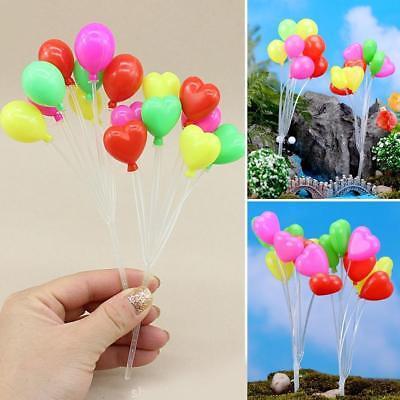 1:12 Ornament Miniatur Figur Mini Ballon Pflanze Fee Dollhouse Decor Ornament