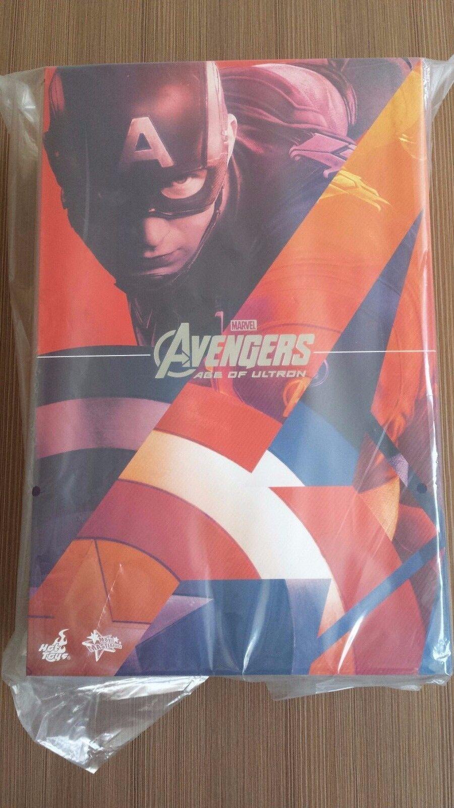 heta leksaker MMS 281 Avengers Age of Ultron Captain America Chris Evans 12 tum NY