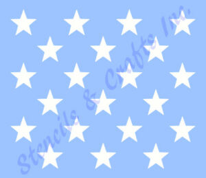 1 5 star stencil stars stencils template pattern craft paint art