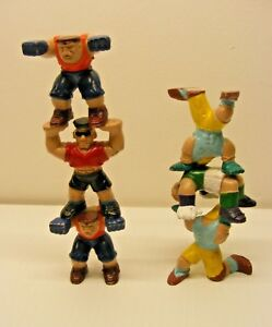 Sport-Wrestling-2in-stackable-WRESTLERS-figures