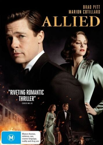 1 of 1 - Allied (DVD, 2017)