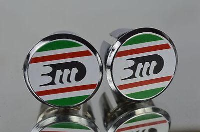new NOS Gianni Motta Handlebar End Plugs Bar End Caps endstopfen lenkerstopfen