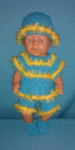 Kleidung & Accessoires Kleiderset Puppen 39-42 cm Handarbeit *neu* für Nikolaus und Weihnachten