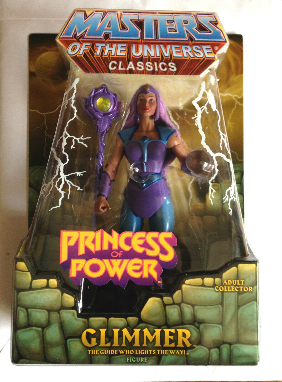 Glimmer He-homme  Masters of the Universe Maitres de l'univers Sold Out Club Exclusive Figure  dessins exclusifs