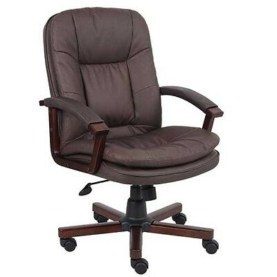 BOSS Executive Mid-Back Chair - B796VSBN