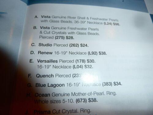 "NWT LIA SOPHIA /""VERSAILLES/"" PENDANT NECKLACE SILVER /& BLUE TONES 2008//$32"