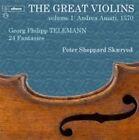 Georg Philipp Telemann - Great Violins, Vol. 1: Andrea Amati, 1570 (2015)