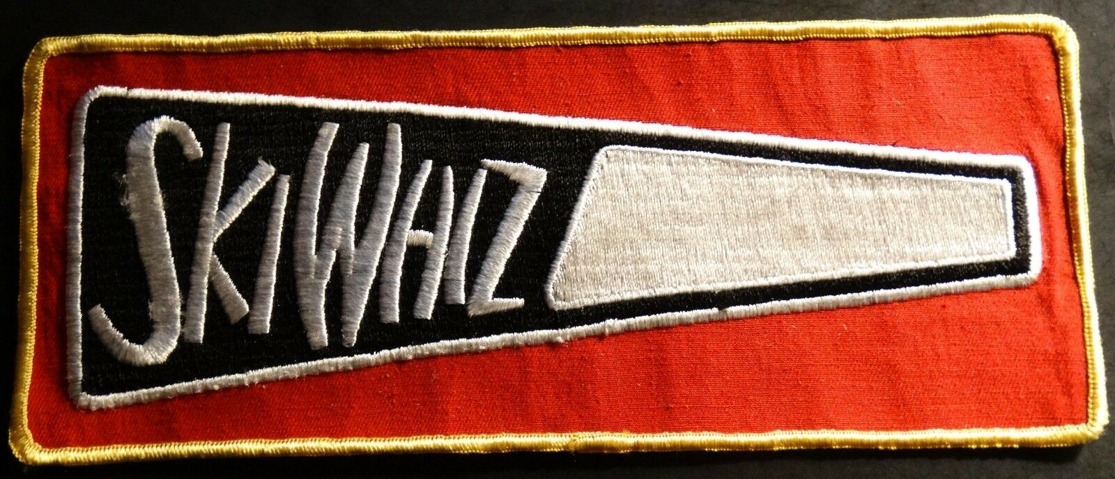 4 PATCH SNOWMOBILE VINTAGE WHIZ SKI FERGUSON MASSEY ORIGINAL