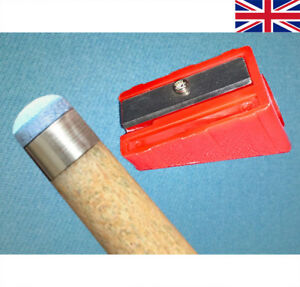 Image is loading CUE-TIP-039-SHAPER-039-FOR-SNOOKER-POOL- 23e1fd08c