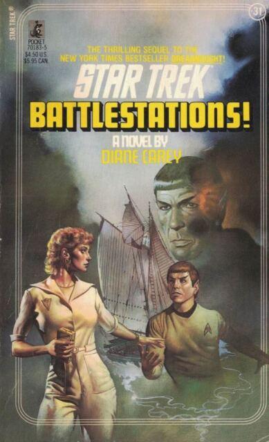 Fortunes of War No. 2: Battlestations! No. 31 by Diane L. Carey Star Trek 1989