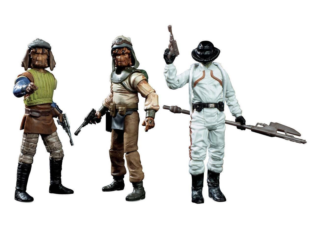 estrella guerras The Vintage collezione Skiff Guard azione cifra 3pk Exclusive