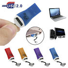 USB 2.0 Micro SD SDHC TF Flash Memory Data Card Reader Mini Adapter For Laptop