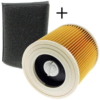 Nouvelle cartouche de filtre Pour Karcher WD WD2 série WD3 Wet /& Dry Vac Aspirateur