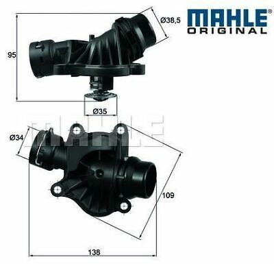 BMW E46 330d Thermostat /& Housing M57 engines MAHLE  11512354056