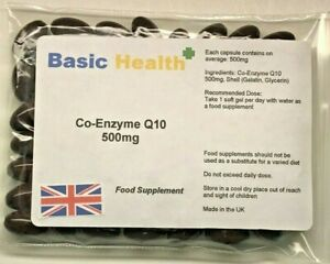 Co-Enzyme-Q10-500mg-x-30-Antioxidant-Heart-Energy-Gum-Disease