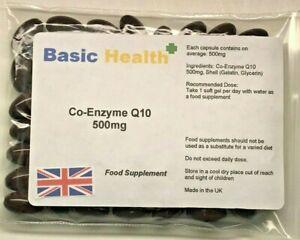 Co-Enzyme-Q10-500mg-x-60-Antioxidant-Heart-Energy-Gum-Disease
