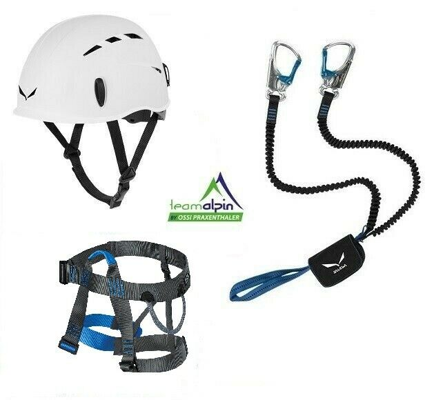 Climbing Equipment Salewa Premium Attac + Lacd Easy 2.0 Strap + Toxo Helmet
