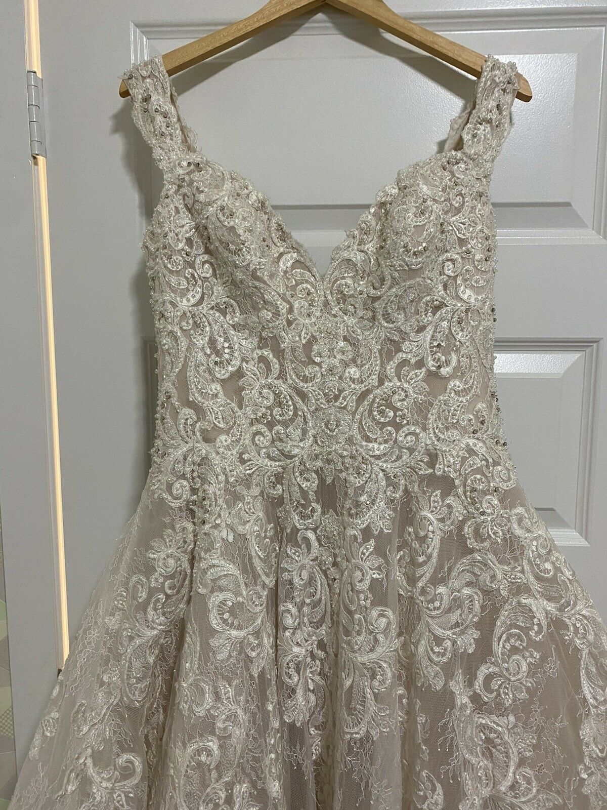 Wedding Dress Allure Couture C461 Size 10 - image 6