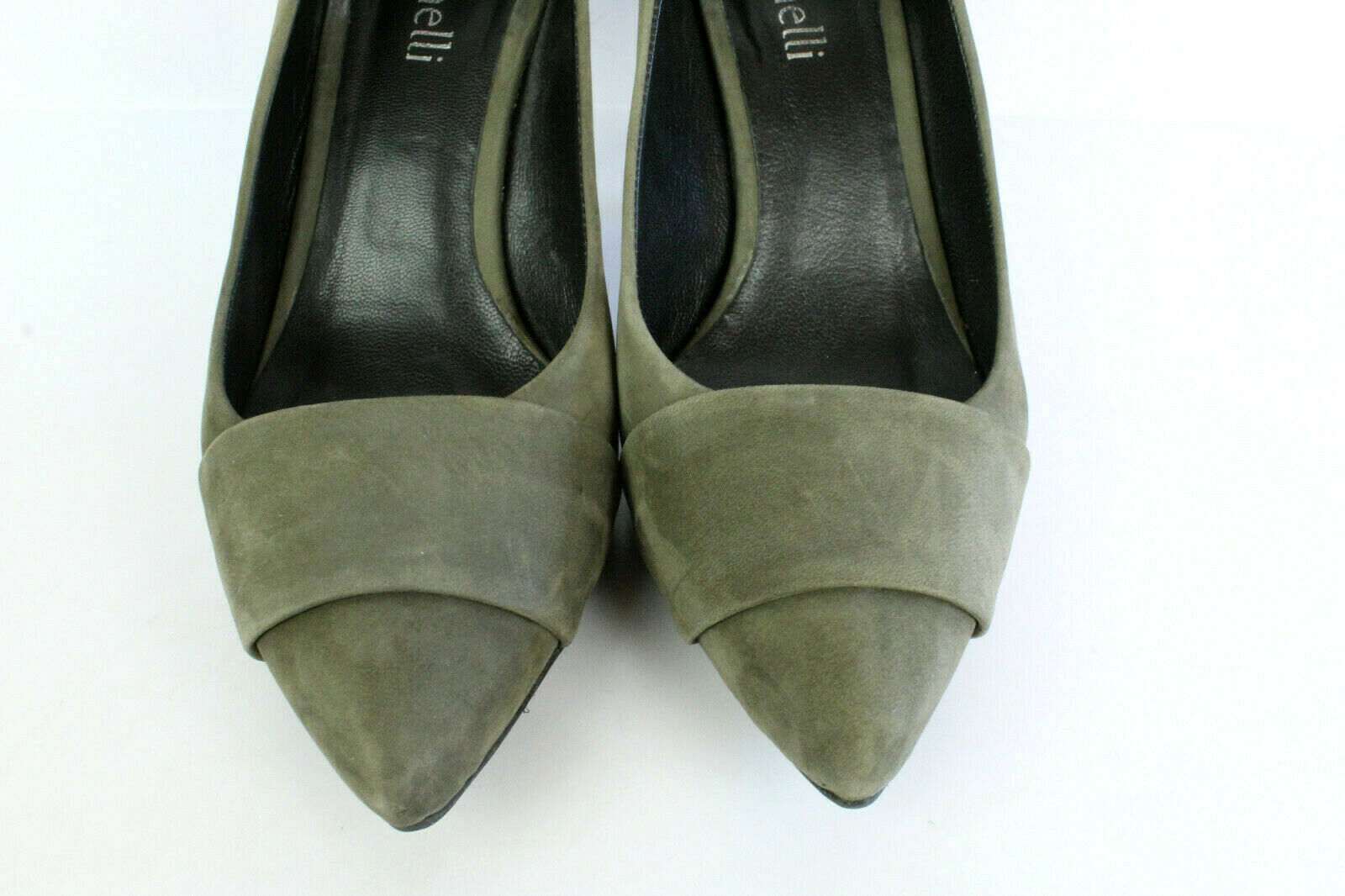 Court shoes Minelli Nubuck Taupe T 38 UK 5 Very Very Very Good Condition 08af76