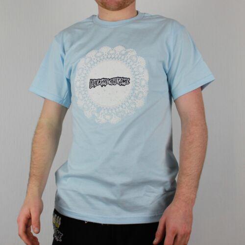 Fucking Awesome Doiley T-Shirt Chambray Men/'s Skateboarding Tee FA Supreme