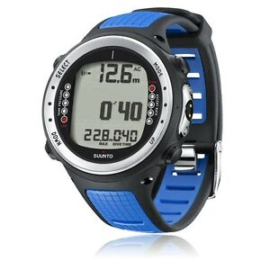 Suunto-D4i-Dive-Watch-Scuba-Wrist-Computer-with-USB-Blue-Discontinued