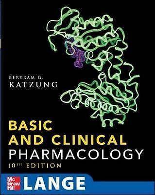 1 of 1 - Basic & Clinical Pharmacology (Lange Basic Science), Acceptable, Katzung, Bertra