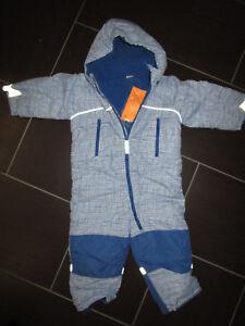 Sonderteil stabile Qualität Sonderteil Details zu NEU! »H&M Baby/Kleinkinder Jungen Schneeanzug/Overall Gr. 92 -  blau-Karo«