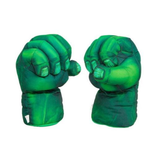 13/'/' Hulk Smash Hands Plush Gloves Spiderman Performing Props For Kids Gift BL