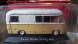 Collection Camping Car 1/43  RENAULT HEULIEZ  1400  KG