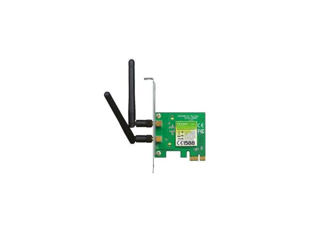 TP-LINK TL-WN881ND Wireless N300 PCI Express Adapter, 300 Mbps, w/ WPS Button, I