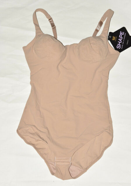 8ec6e47dbc Wacoal Try a Little Slenderness Bodysuit 801165 Toast 36d for sale ...