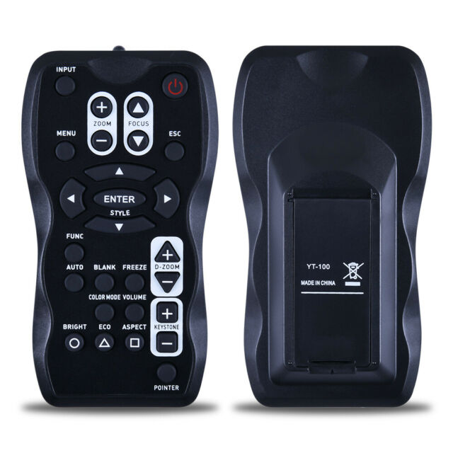 for Casio XJ-A140V TeKswamp Video Projector Remote Control White