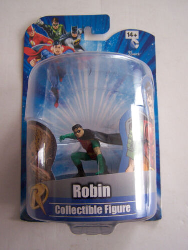 DC COMICS FIGURINE WB SHIELD WARNER BROS , ROBIN , SOUS BLISTER . NEUF .