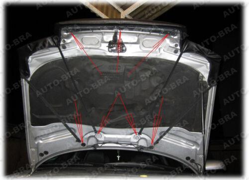 94-01 Carbon Optik Steinschlagschutz Haubenbra Tuning BRA Audi A4 B5 Bj