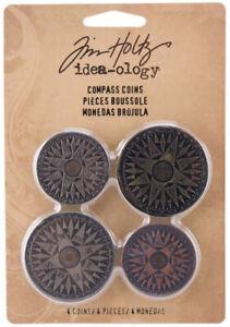 Tim-Holtz-Idea-ology-Metal-Compass-Coins-Ideaology