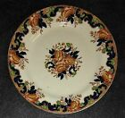 John Maddock & Sons MAJESTIC Plate Cobalt Multi/Royal Vitreous Imperfect
