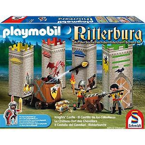 Schmidt-Playmobil-Ritterburg-Auf-der-Suche-nach-dem-Edelstein-Schatz-40561-OVP